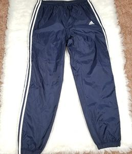Adidas mens blue sweatpants . Size M